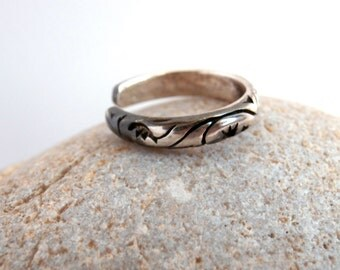 Silver Toe Ring - Vintage