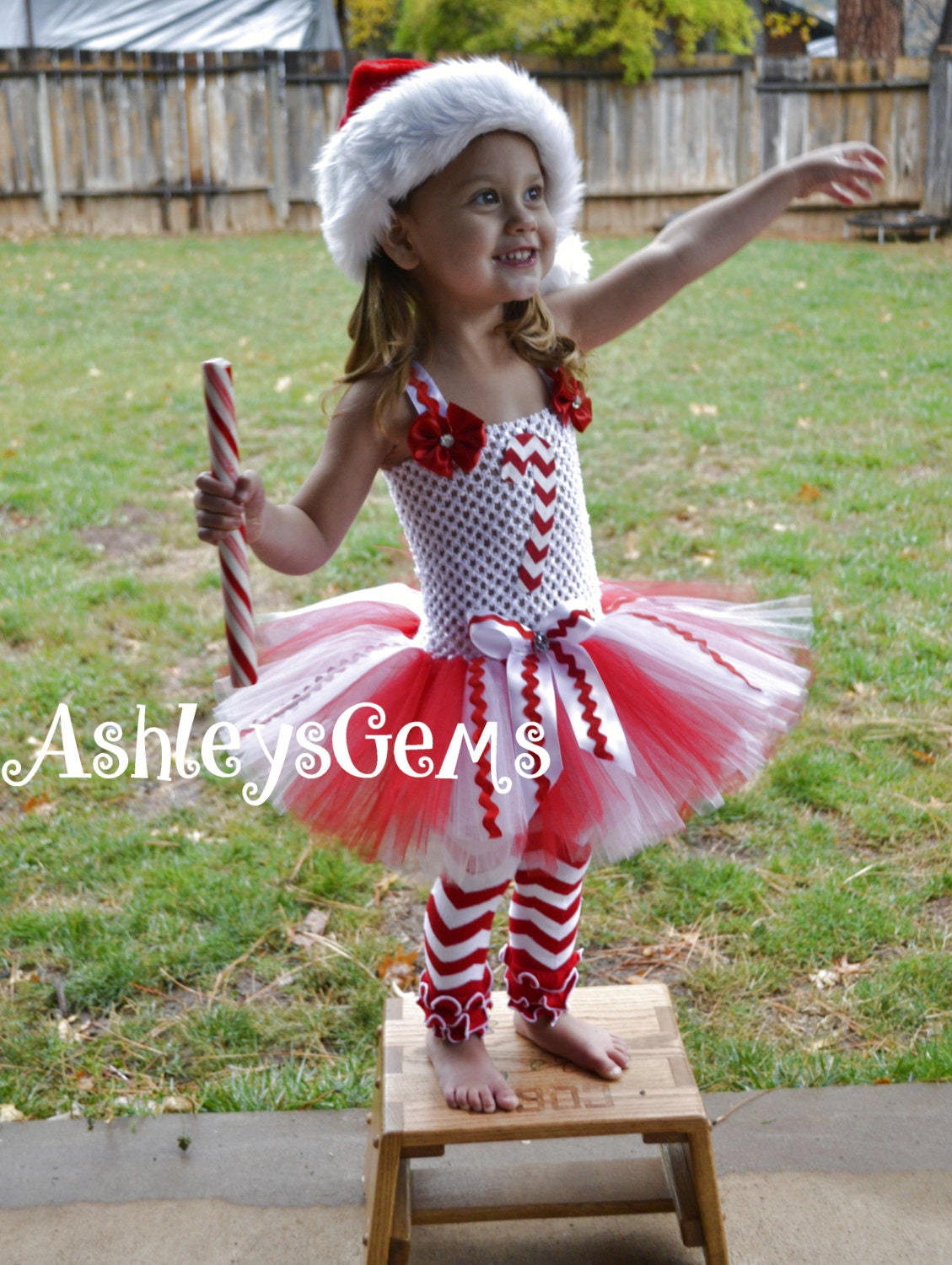 Candy cane cutie candy cane dress candy cane by ashleysgemsshop