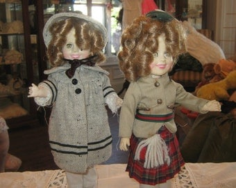 Ideal Dolls. Shirley Temple