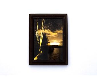 Antique Landscape Tintype Photograph C. 1800s