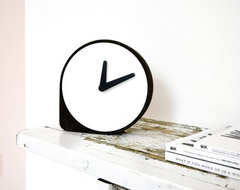 Clork / Cork Steel / Dutch Design Clock by ILIASERNST / Puik Art