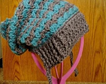 Zig Zag Slouchy Hat