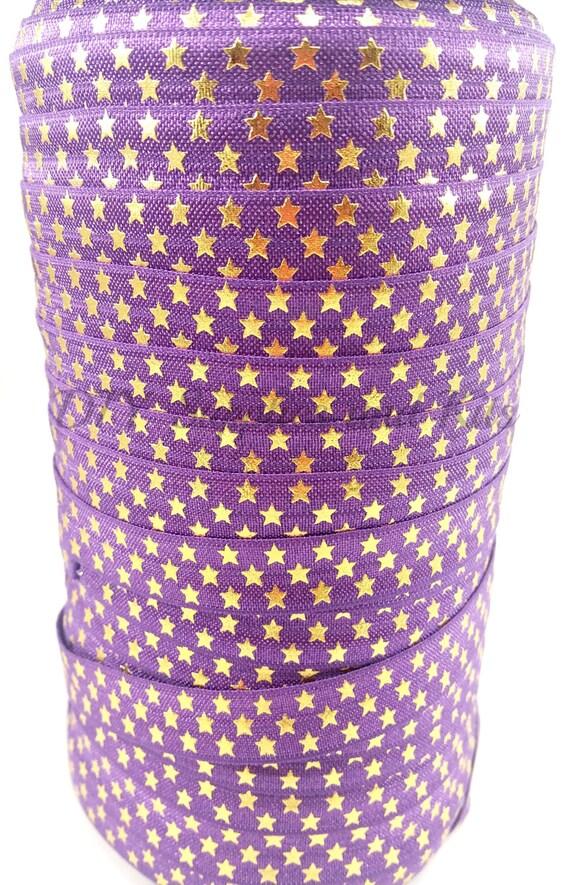 purple and gold stars - photo #17