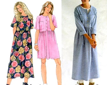 Simplicity Sewing Pattern 9340 Misses' Dress  Size:  AA  XS-S-M  Used