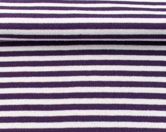 Ringel cuff circumference 70 cm purple / white