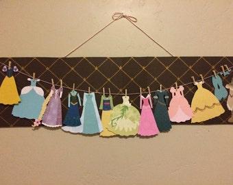 Choose Your Favorite Disney Princess Paper Dresses