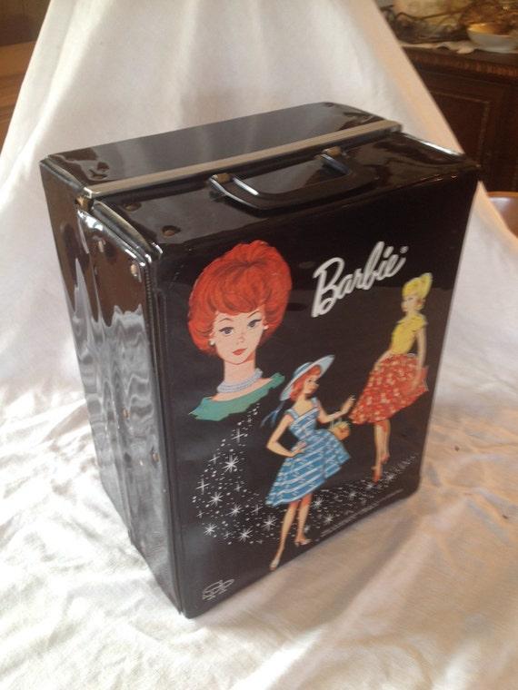 Vintage 1964 Barbie Carrying Case Mattel Inc