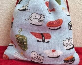 Kawaii Cat Sushi Bag