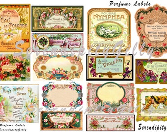 15 Perfume Labels (DOWNLOAD)