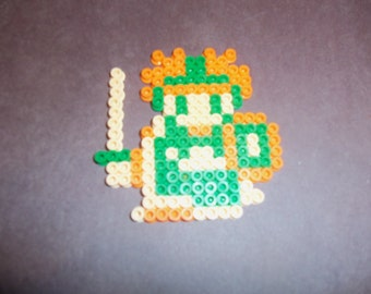 Prince of Cannock from Dragon Warrior 2 Perler Bead Art