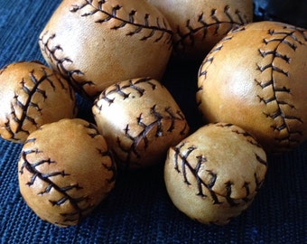 Leather Balls for Chop Cup or Cups and Balls