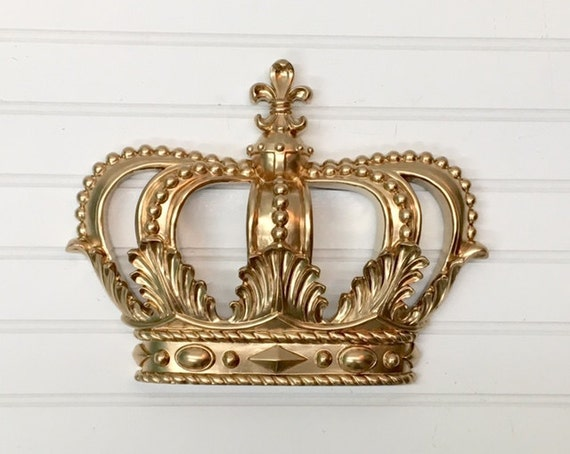 Gold Princess Crown/Gold Crown/Nursery by TheShabbyStore ...