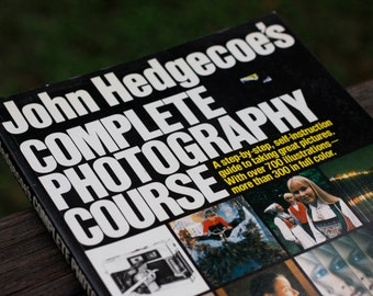 Vintage Photography Book // John Hedgecoe's Complete Photography Course