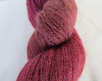 lace: fine handdyed alpaca-silky laceyarn OOAK