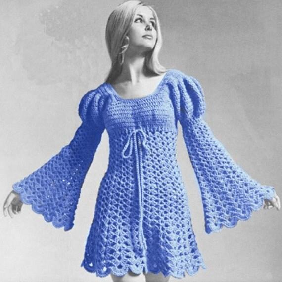 Juliet Style Crochet Dress Wedding Hippie Boho Plus Size