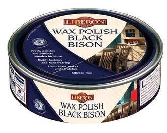 Liberon Black Bison Wax Polish - Feed, Polish, Protect - Clear - 500ml - New!