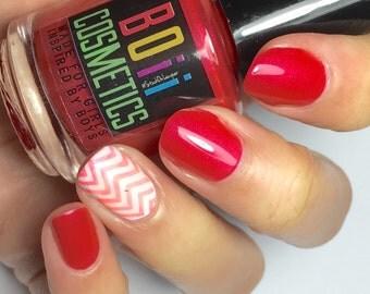 nail polish, red nail polish  , lets party and have no regrets in life