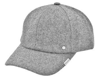 Emstate Melton Wool Baseball Cap Made in USA 3 Colors
