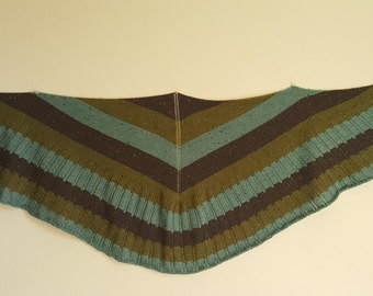 Forrest Cottage hand knitted Shawl
