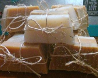 Rustic Handmade Natural Soap Pack