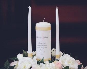 Unity Candle Set, Custom Made