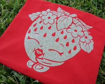 Glittery Strawberry Shirt
