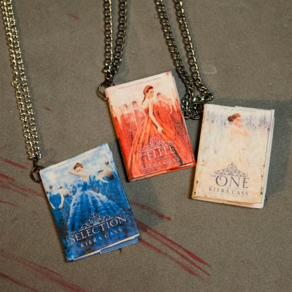 The Selection Series MiniBook Pendant/Necklace