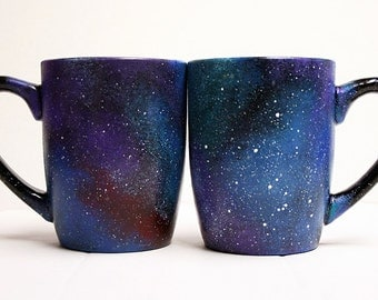 Galaxy Mugs - Celestial - Galactic - Cosmos - Cosmic - Starry - Outer Space