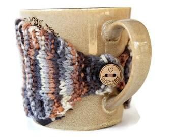 Coffee Mug Cozy - Mug Cozy - Knitted Mug Cozy - Mug Sleeve - Tea Mug Cozy - Mug Jacket - Hot Drink Cozy - Mocha Cozy - Knitted Drink Sleeve