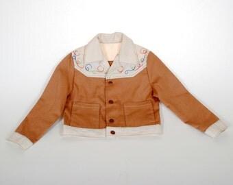 Vintage Child's Jacket Western Cut