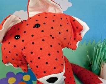 Fox plushie pattern