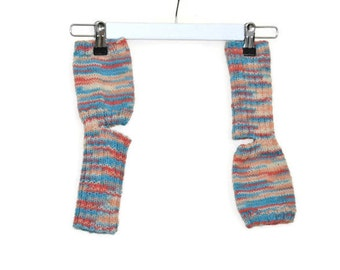 Yoga socks multicolored (toeless and healless, 38/39, US 7.5-8.5)