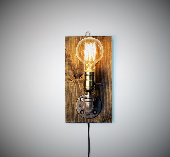 Wall Lamps Industrial : Industrial wall Lamp Sconce Wall Light by UrbanIndustrialCraft
