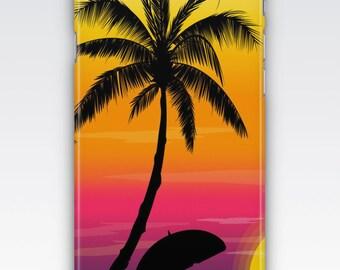 Case for iPhone 8, iPhone 6s,  iPhone 6 Plus,  iPhone 5s,  iPhone SE,  iPhone 5c,  iPhone 7  - Sunset Beach iPhone