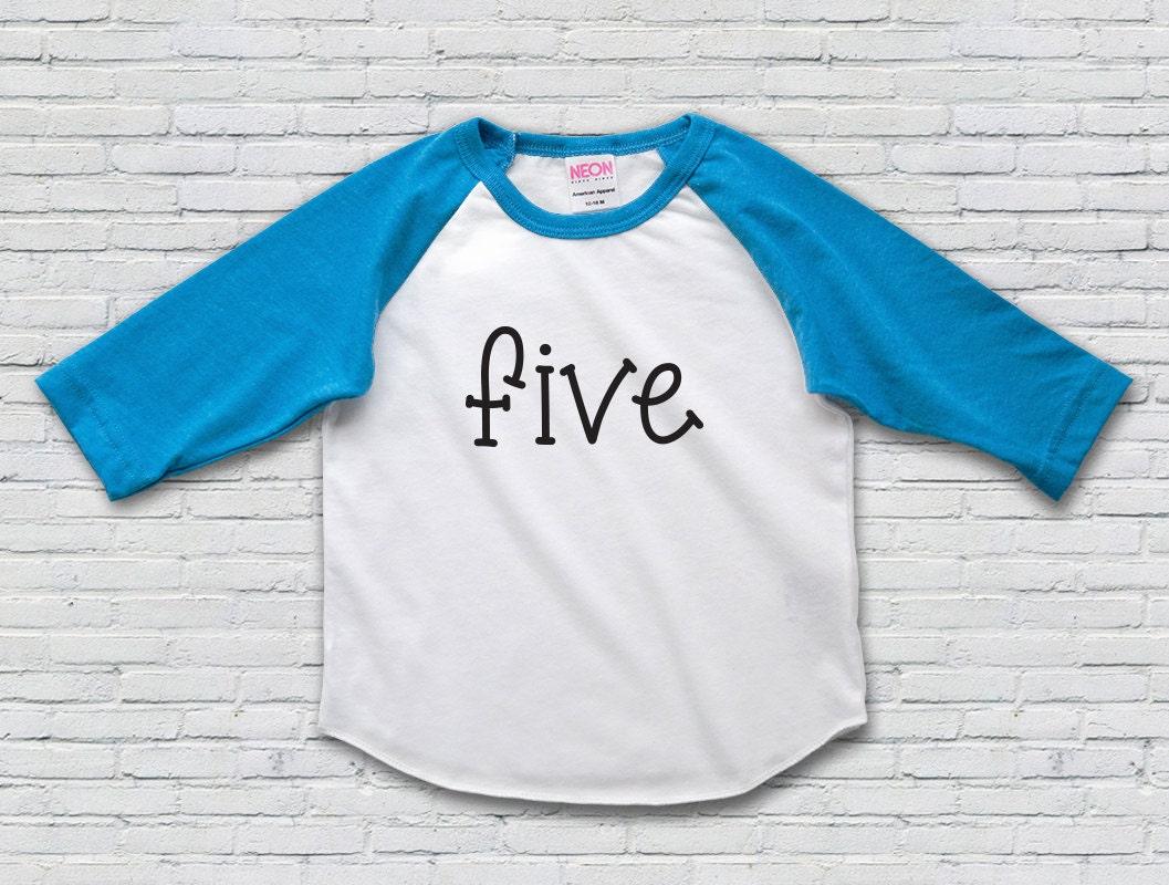 5th Birthday Shirt Fifth Girl Oufit Boy