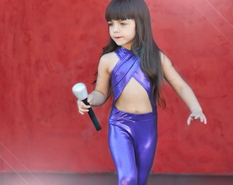 Girls Selena Inspired Halloween Costume.
