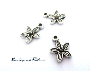 5 charms Flower