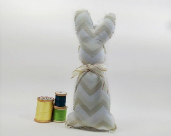 Stuffed Toy: Sweet Fabric Bunny, Perfect Simple Soft Toy for Children