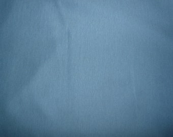 Fabric - Double cotton jersey fabric - grey blue.