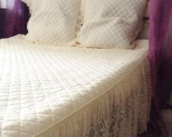 couvre lit etsy fr. Black Bedroom Furniture Sets. Home Design Ideas