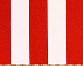 Red Outdoor Pillow Cover   Premier Prints Outdoor Stripe Rojo   Custom  Sizes Available   Zipper