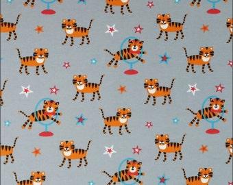 Jersey Circus Tigers 150cm, 95 percent Cotton 5 percent Elastane