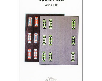 Pattern - Spare Parts by DJ Richards Design (DJR007) Quilt Pattern