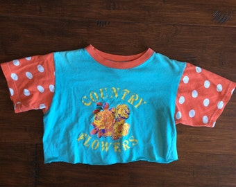 Adorable Vintage Cropped T-Shirt