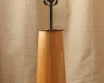 Handmade Straw Marquetry Lamp