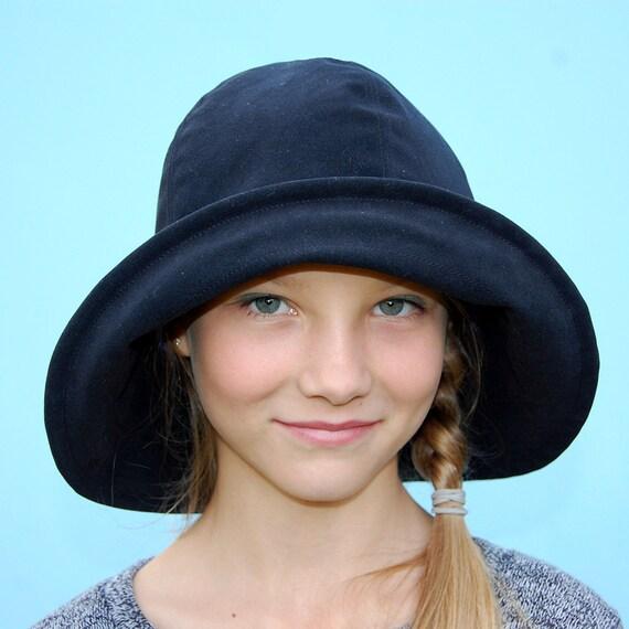 womens fedora hatblack designer hatzutelle widebrim by