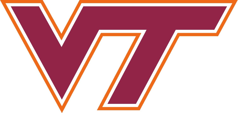 Virginia Tech Hokies Cornhole Decal