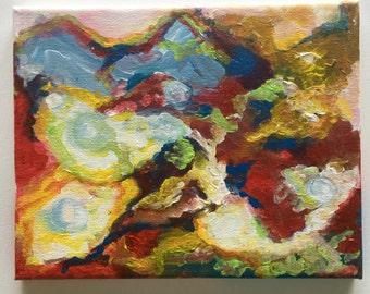 Original painting, abstract painting, acrylic