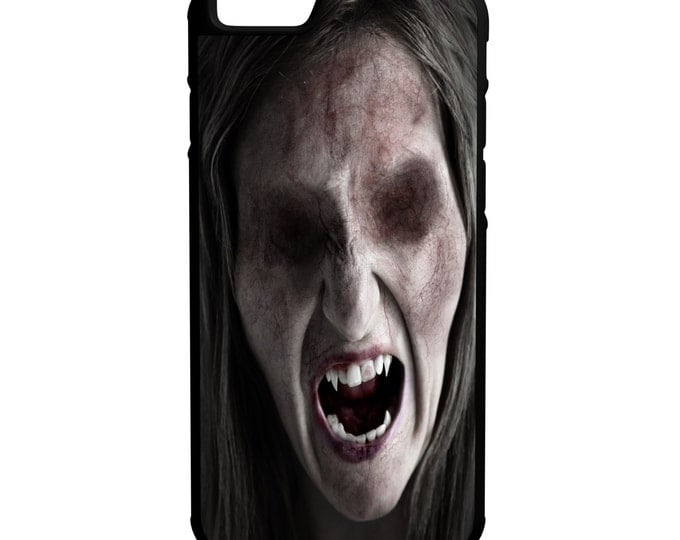 Zombie Lady iPhone Galaxy Note LG HTC Hybrid Rubber Protective Case