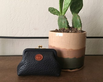 Vintage Dooney and Bourke Leather Coin Purse
